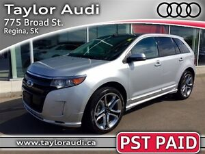 2014 Ford Edge Sport, PST PAID, NAVI, PANO ROOF, TOURING PKG