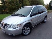 2008 Chrysler Grand voyager executive 2.8 crd Auto # 7 seater Mpv # Leather # p/sensors