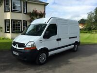 very very rare van for sale 2010 renault master mwb loads of extras only one of its kind for sale
