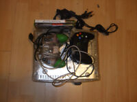 Original clear xbox. Limited edition. Good condition!