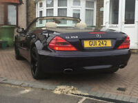 MERCEDES SL350 3.7 2003 BLUE