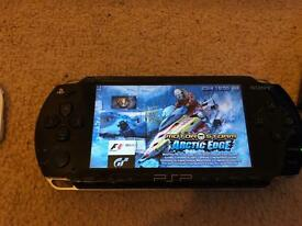 Sony PSP + 18 Games