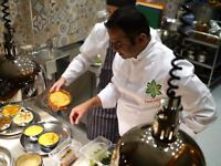 COMMIS CHEF – CURRY LEAF CAFE'S 'KEMPTOWN KITCHEN' PREPARING INDIAN 'SMALL PLATES'