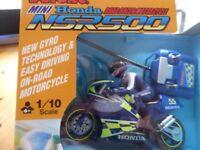 REMOTE CONTROL MINI HONDA NSR500 MOTORBIKE