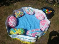 Ball pit with balls.