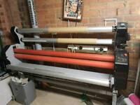 Wideformat cold laminator