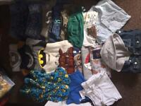 Bundle of boys clothes aged 4-5 and 5-6