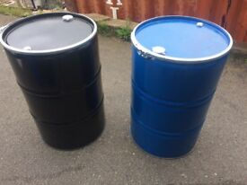 Old metal barrels/drums
