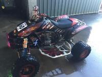 Honda trx 450 racing quad