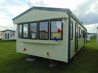Double Glazed Caravan with Direct Beach Access on North Wales Coast !!