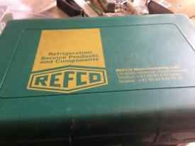 Refco air conditioning manifold gauge set