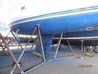 Yacht Cradle For keel boat or Motor Boat.