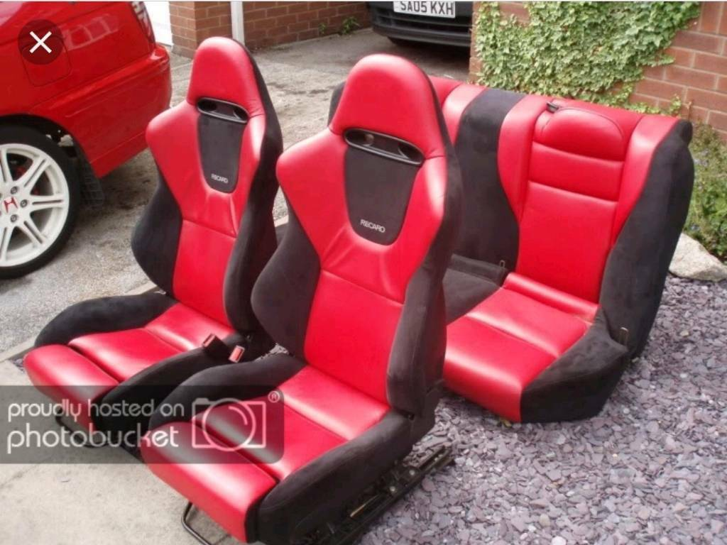 Super Rare Honda Accord Type R Seats Steering Wheel Civic Ef Fn2 Ep3 Ek9 Jdm