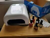 LED nail kit
