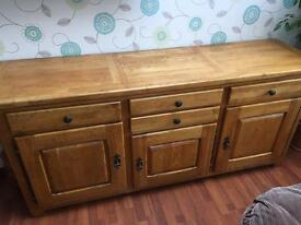 Oak sideboard