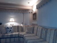 Beautiful static caravan for sale. Immaculate condition and in a beautiful location.