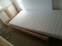 single bed complete with mattress made IKEA £60