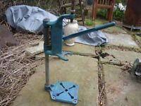 Black and Declker drill stand, vintage