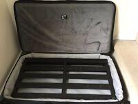 Pedaltrain Pro pedal board and Mono M80-PB3 case