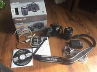 NOT WORKING Olympus E-450 Spares/Repairs 14-42mm lens