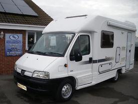 2003 Peugeot Autocruise Starquest Coachbuilt 2.0 HDI PAS