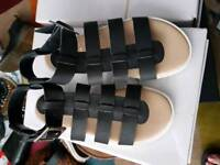 Brand new gladiator sandals size 3