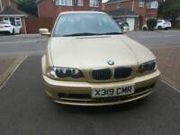 BMW ,3SERIES, 1 OWNER ,74K ,LEATHER SEAT, LONG MOT, FULL SERVICE, RS SENSOR, TIDY £1654 ONO