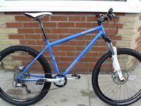 Genesis Altitude Mountain Bike, XTR-HOPE-Rockshox.