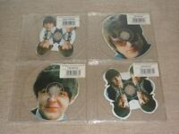 The Beatles The World's First Beatles Shaped Discs - 4 Interview CDs 4-CD Album Set