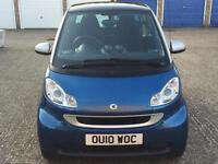 2010 SMART FORTWO 1.0 PASSION MHD AUTO PETROL