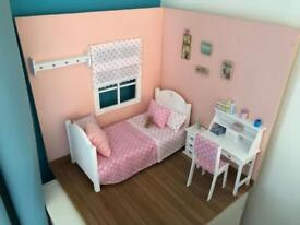 Handmade Wooden Dolls Box Room