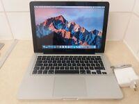 Apple MacBook Pro. 2.7 i7, A1278, Web-Cam, 13.3 Wide-Screen, Sierra OS X 10.12.4, Office 2016 Pro