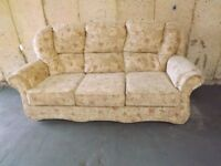 3 seater sofa, as new, hardly been used. £70