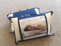 Temper travel pillow