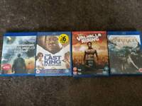 Blu- Ray DVDS