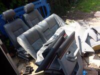 Bmw e39 5 series full leather interior seat doors cards carpets plastics 520i 525i 530i 525d