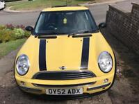 Mini One 2002 For Sale