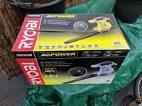 Ryobi 3000watt vacuum/blower
