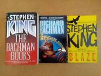 Stephen King books written as Richard Bachman