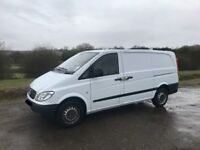 MERCEDES VITO 109 CDI LWB DIESEL 2009 09-REG FULL SERVICE HISTORY TWIN SIDE DOORS DRIVES EXCELLENT