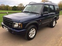 2004 Land Rover Discovery Pursuit TD5 4x4 Automatic Turbo diesel 7 seater 12 months mot