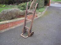 Old Wooden Sack Cart