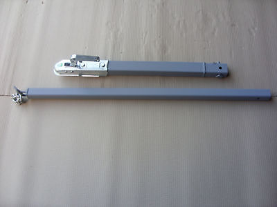 3.5ton  ext'd  RECOVERY DOLLY TOW BAR TOWING POLE A FRAME 2.2m long