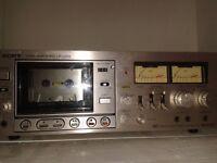 Rare Vintage Sony cassette deck TC-229sd