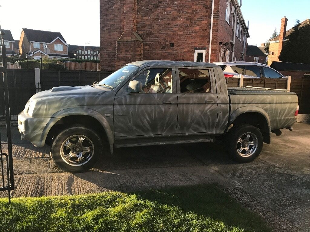 mitsubishi l200 warrior double cab pick up in mexborough south yorkshire gumtree. Black Bedroom Furniture Sets. Home Design Ideas