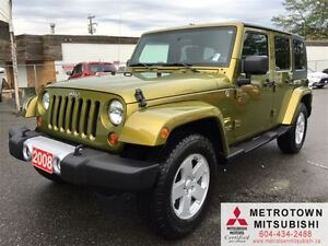 2008 Jeep Wrangler Unlimited Sahara; Local, Mint condition