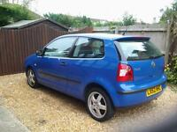 VW POLO 1.2s. 52 plate. Low mileage . Full 12 months MOT
