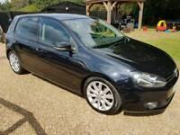 2010 Volkswagen golf gt tdi 140 mot diesel cheap car Kent bargain