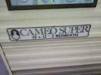 free 2 bed static caravan