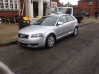 audi a3 3 door 2.0l tdi 6 speed gearbox breaking for parts olny